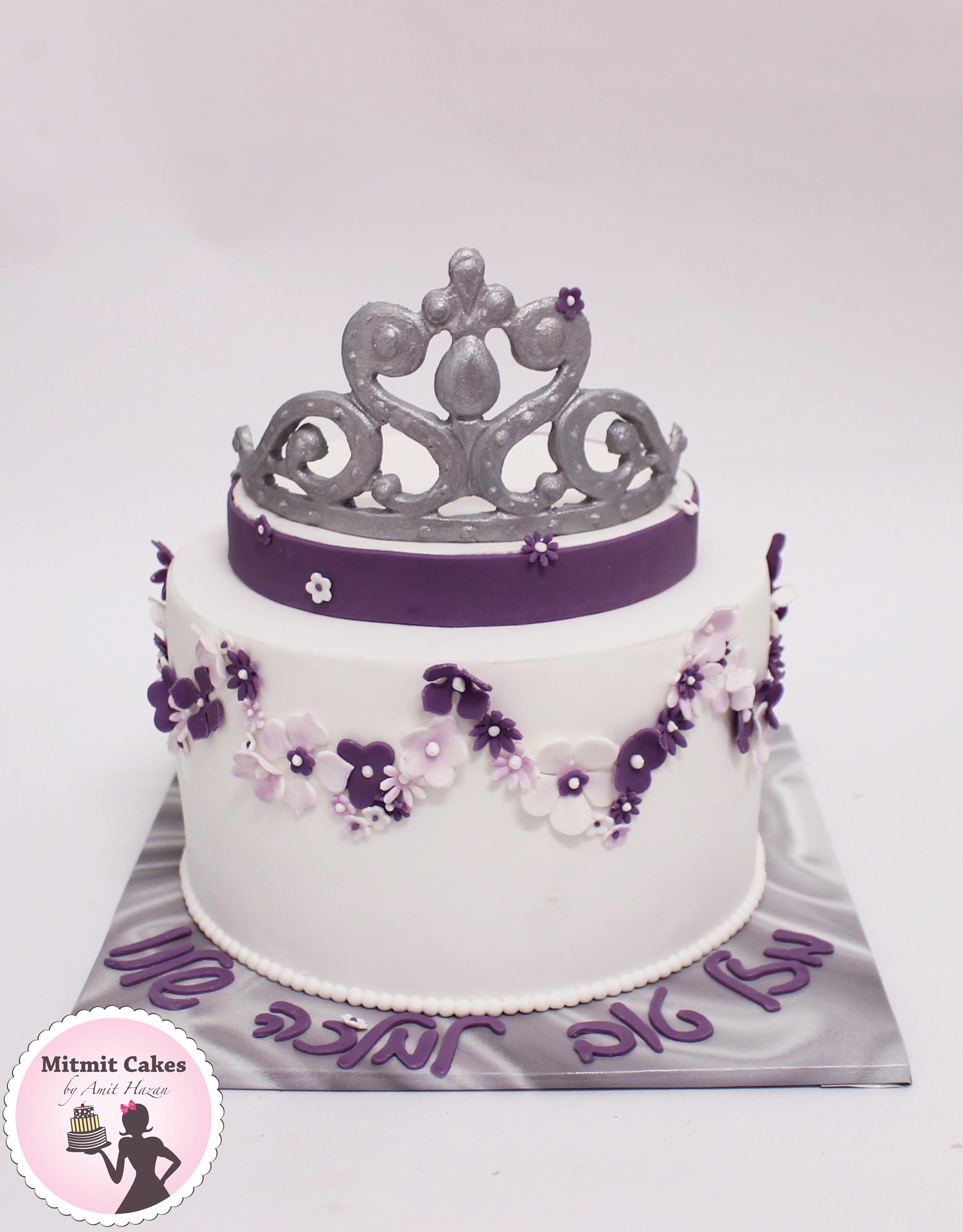 עוגת כתר למלכה