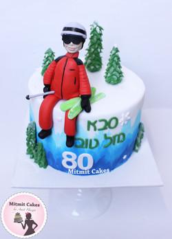 עוגה סקי לסבא