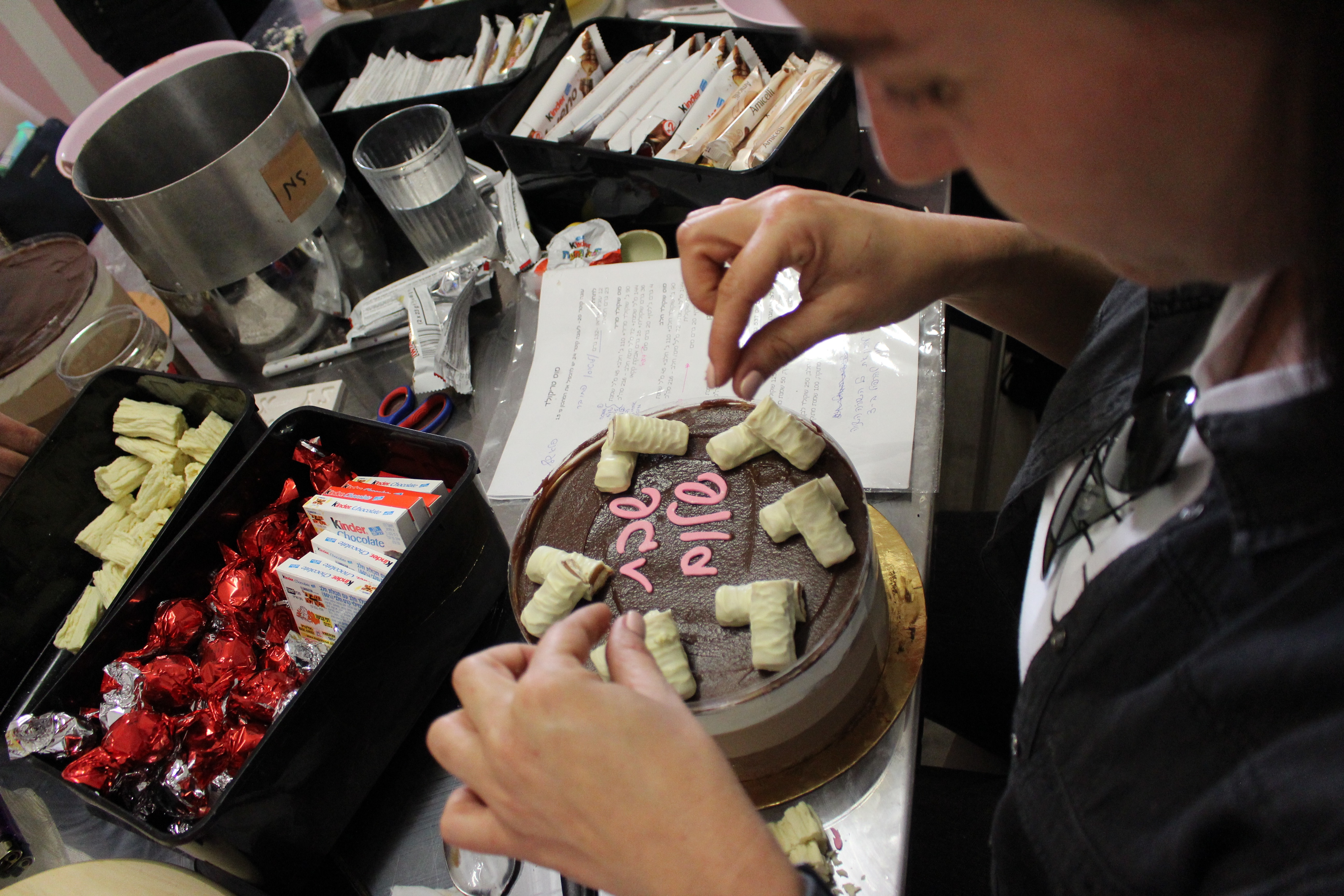 סדנאת עוגות מוס