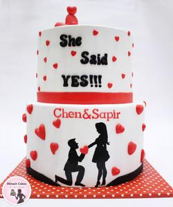עוגה לחתונה