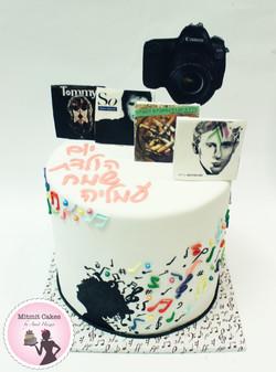 עוגת מוזיקה וצילום