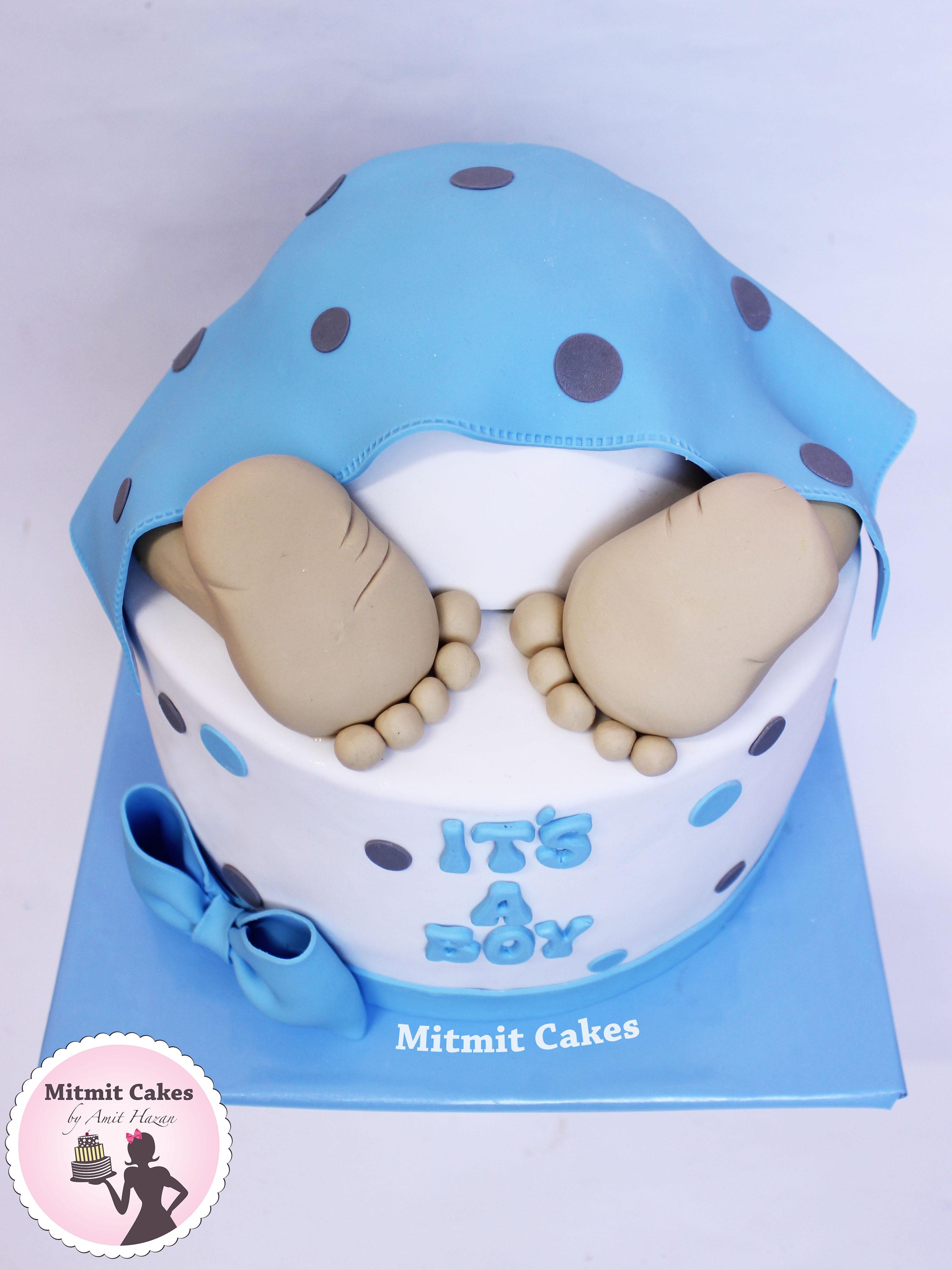 עוגה תינוק- הולדת הבן