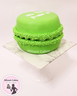 עוגת מקרון