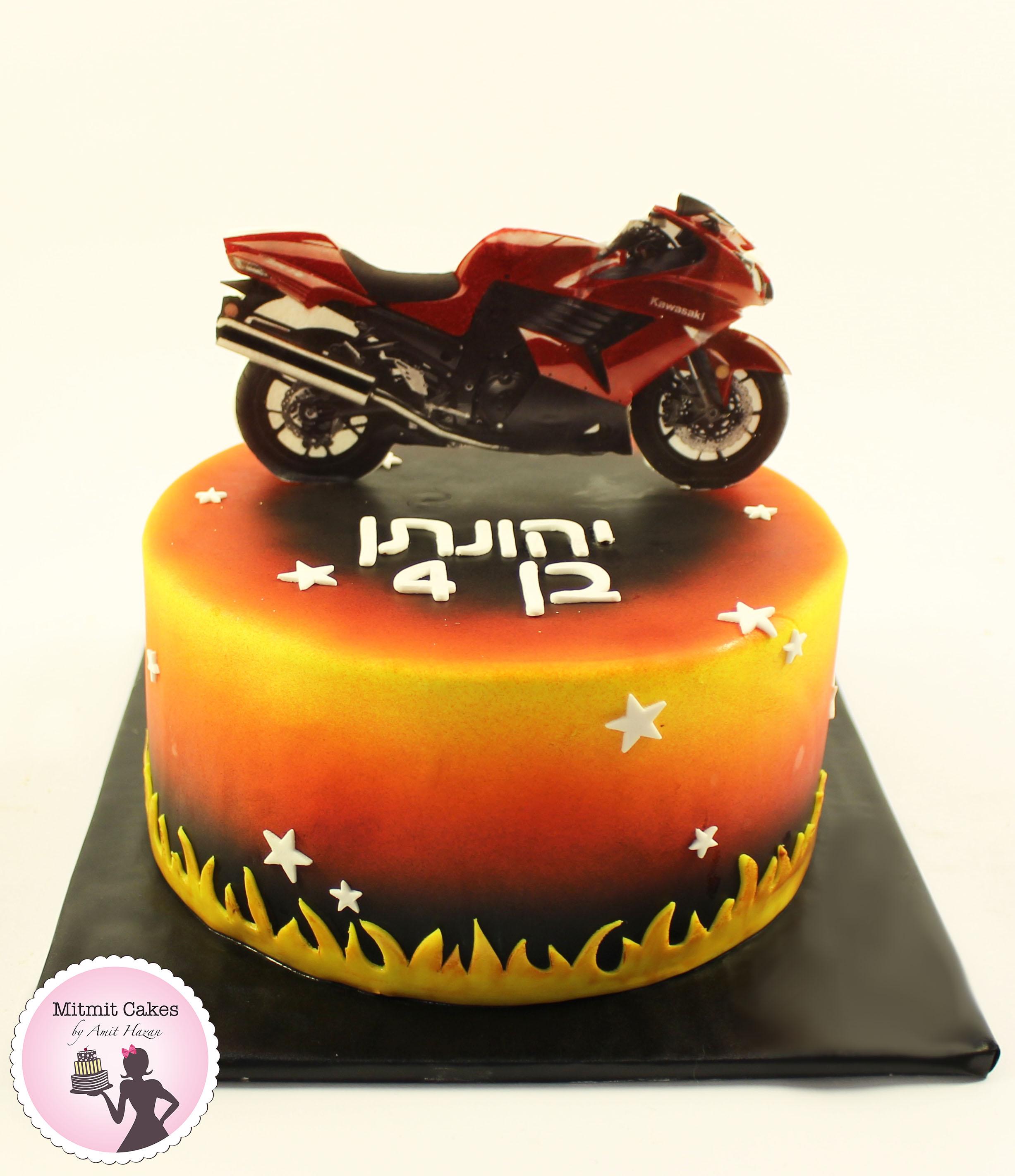 עוגת אופנוע