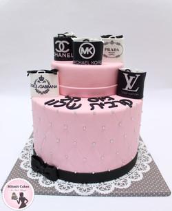 עוגה שקיות שופינג לגיוס