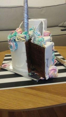 עוגת החד קרן שלנו
