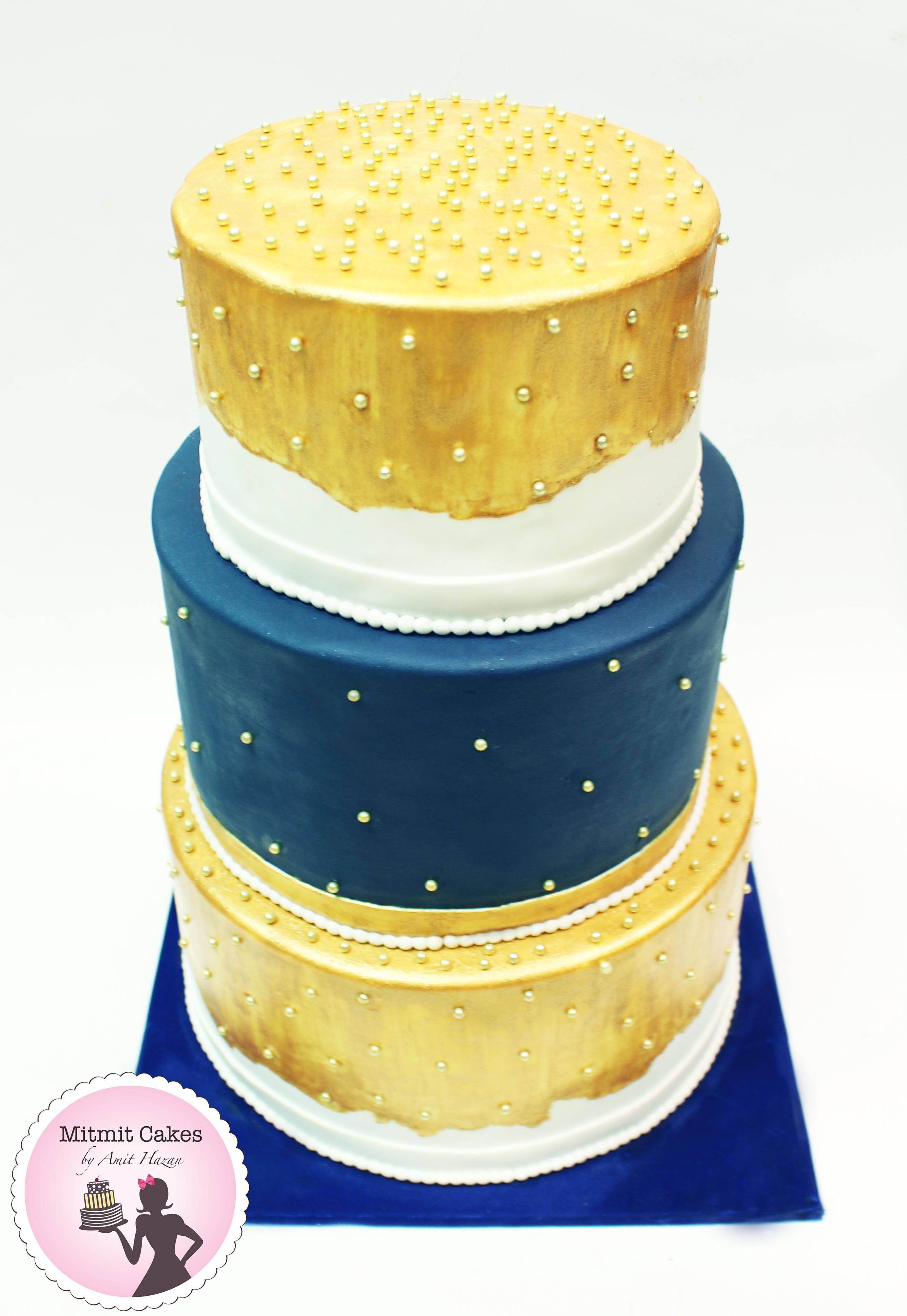 עוגת חתונה 3 קומות
