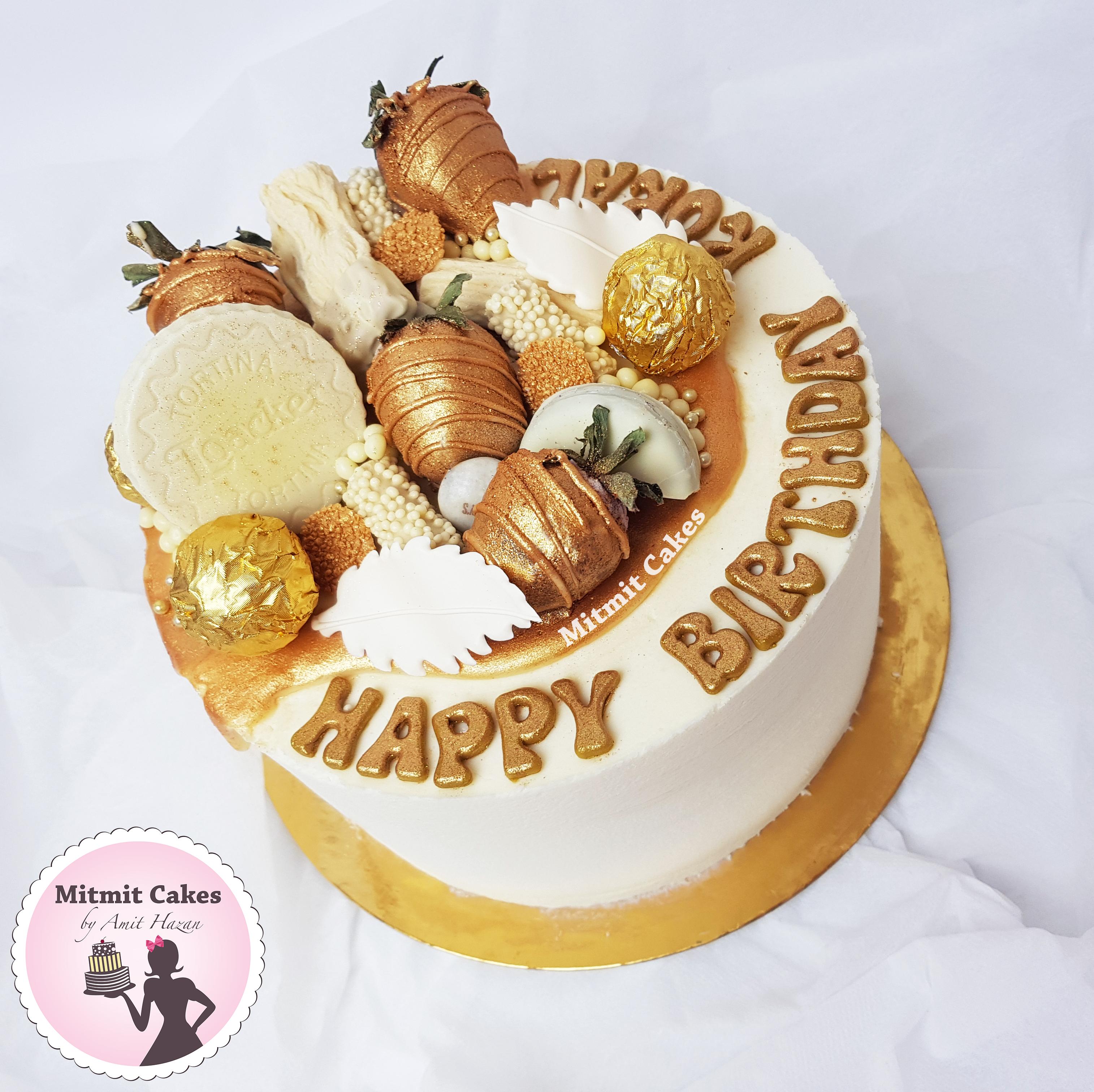 עוגה זהב