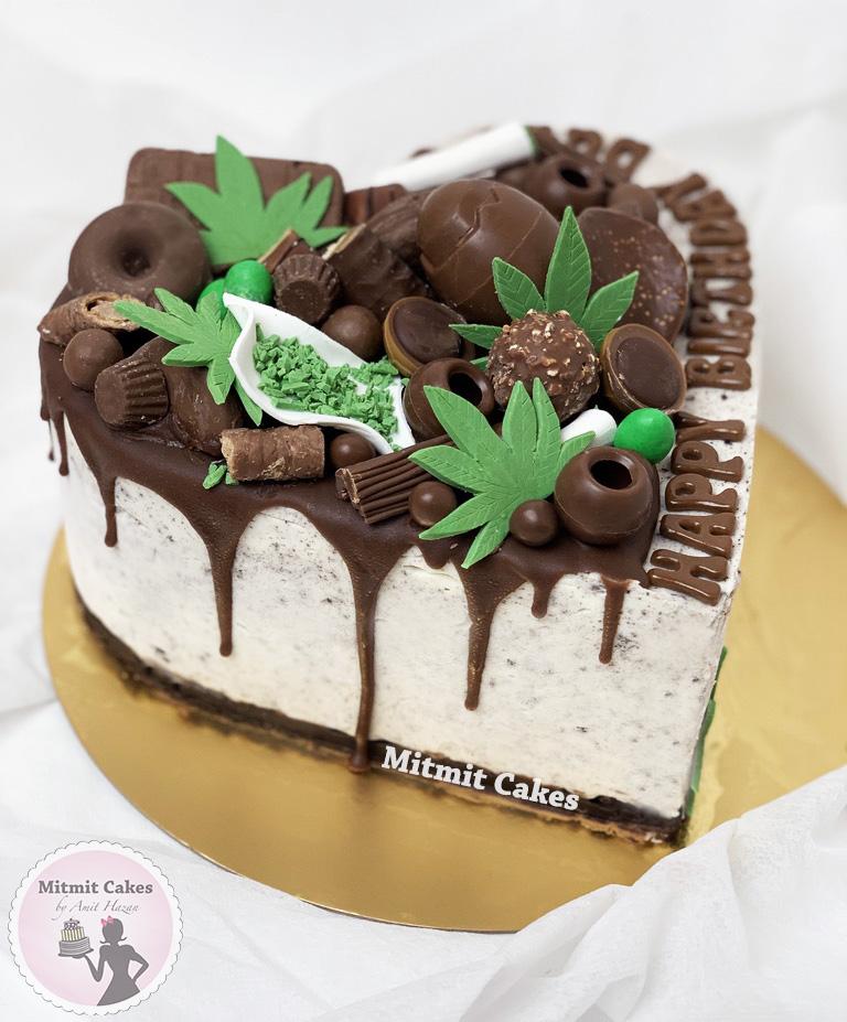 עוגת קנאביס