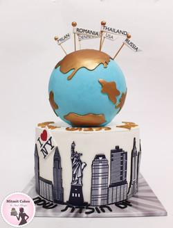 עוגה סובב עולם