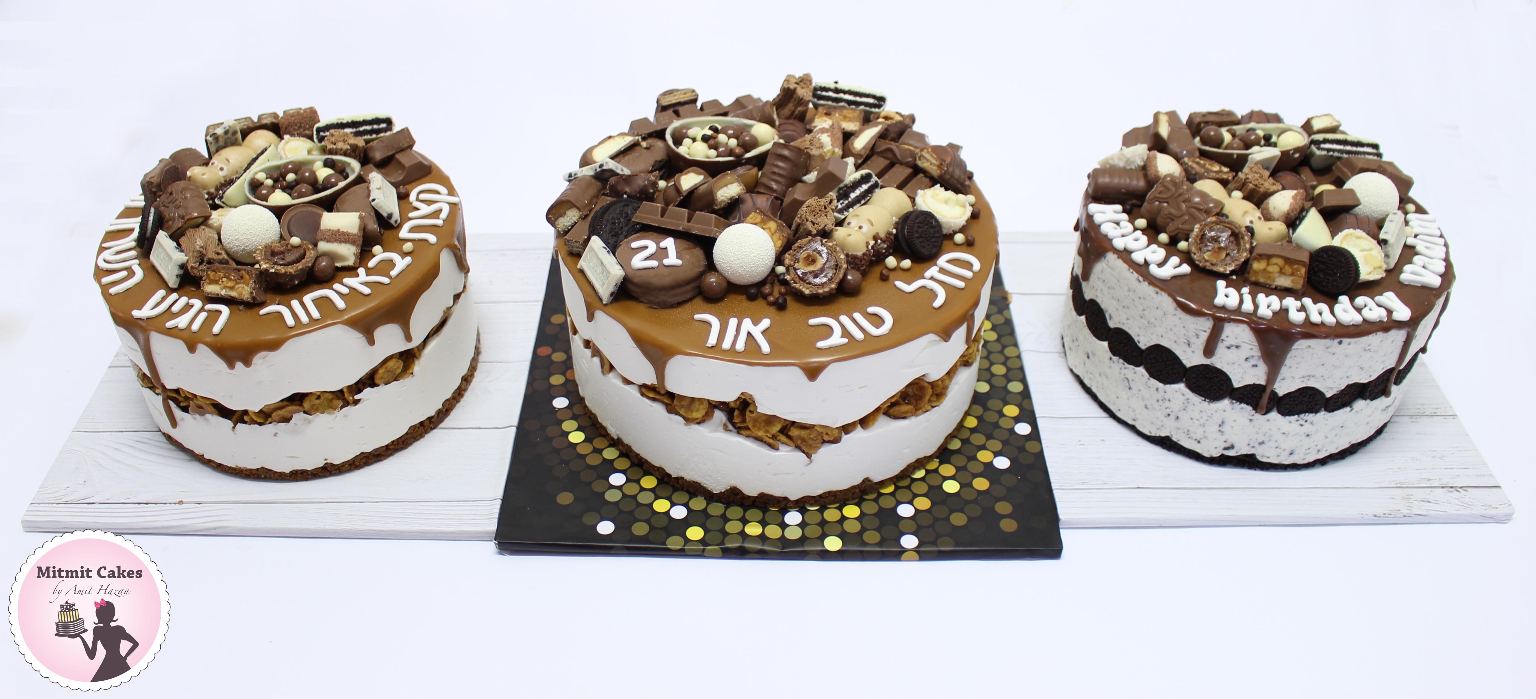 עוגת מוס מסקרפונה ומוס אוריאו
