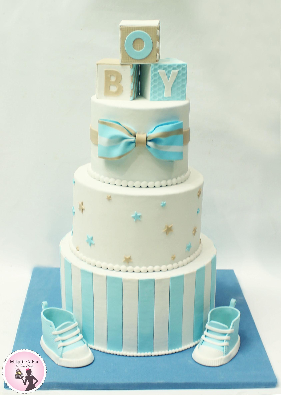 עוגה לברית תינוק חדש