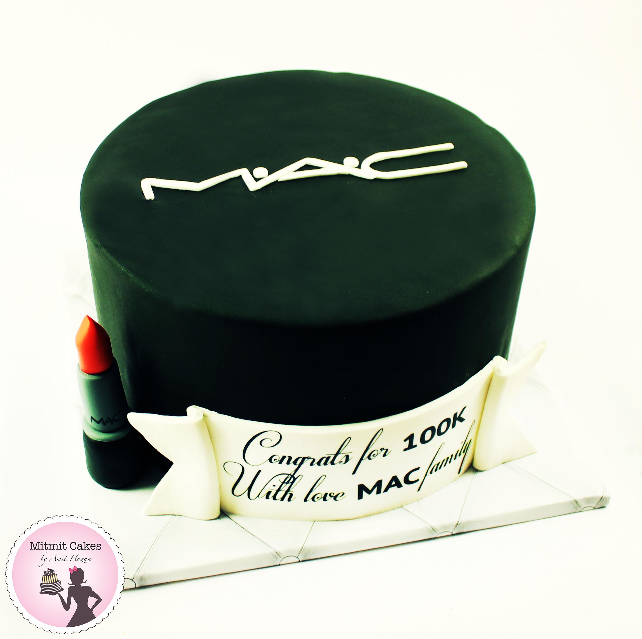 עוגה של חברת MAC