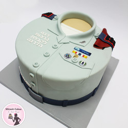 עוגה לקבלת דרגת סרן