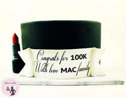עוגה ל100 אלף עוקבים