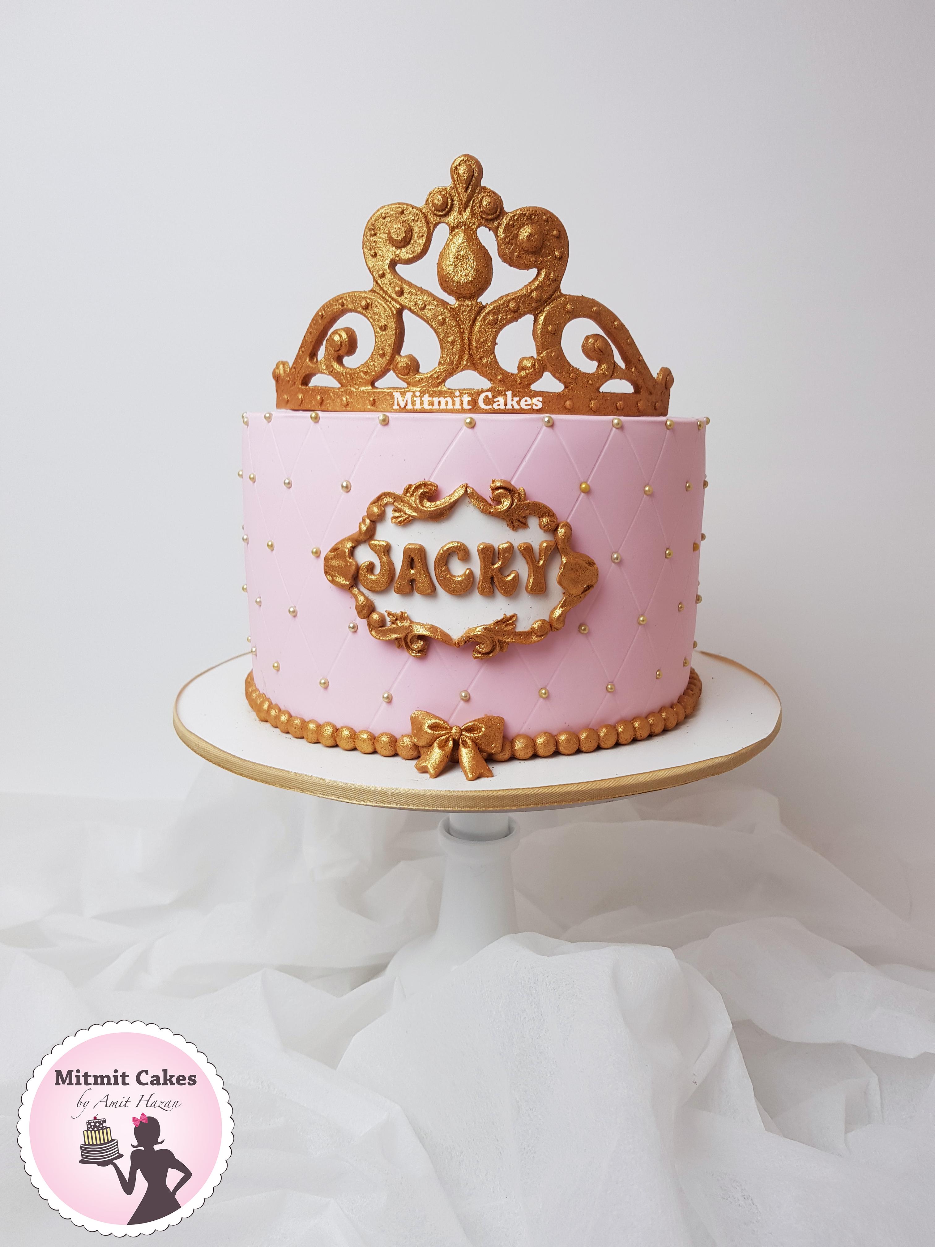 עוגה כתר