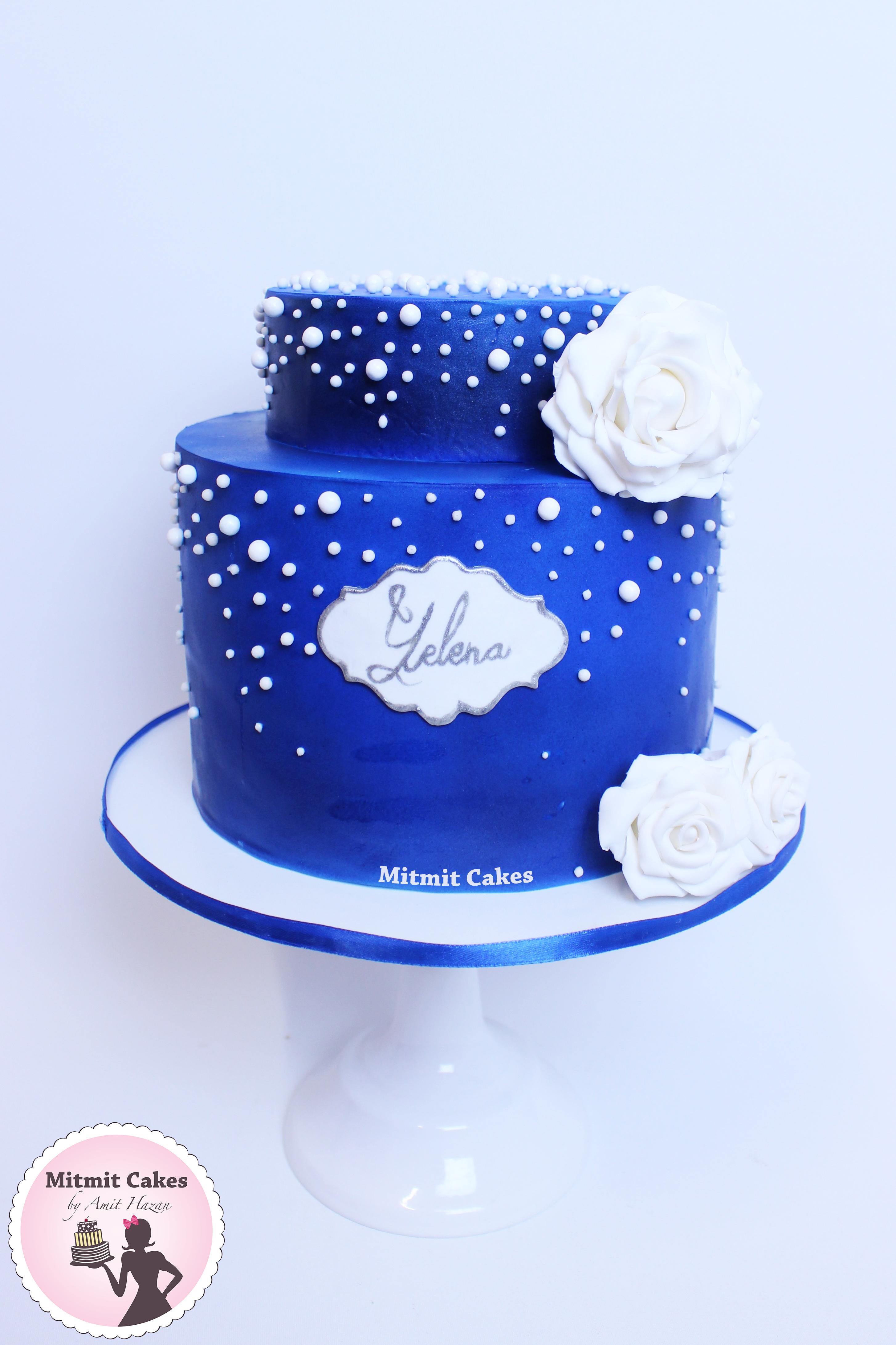 עוגת יום הולדת מלכותית