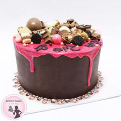 עוגת גיוס עם שוקולדים