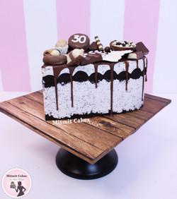 עוגה לב אוריאו