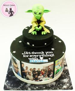 עוגה מלחמת הכוכבים