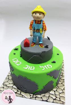 עוגה בוב הבנאי