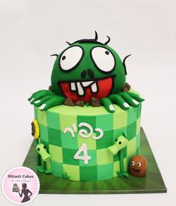 עוגה מפלצת זומבי
