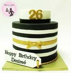 עוגה קלאסית ליום הולדת