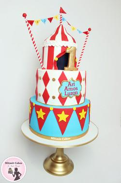 עוגה קרקס