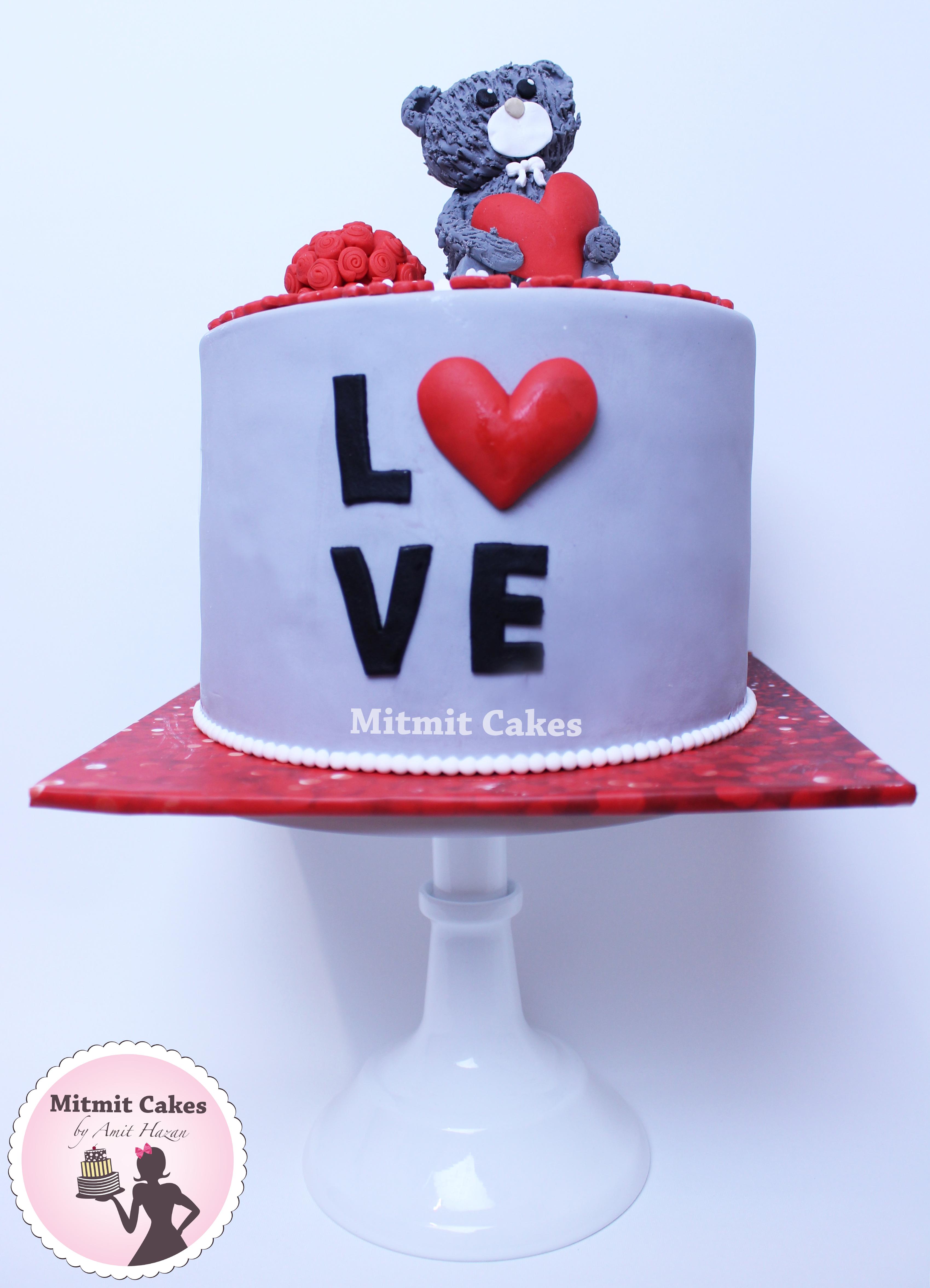 עוגת דובי ליום נישואין