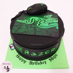 עוגה לגיימר