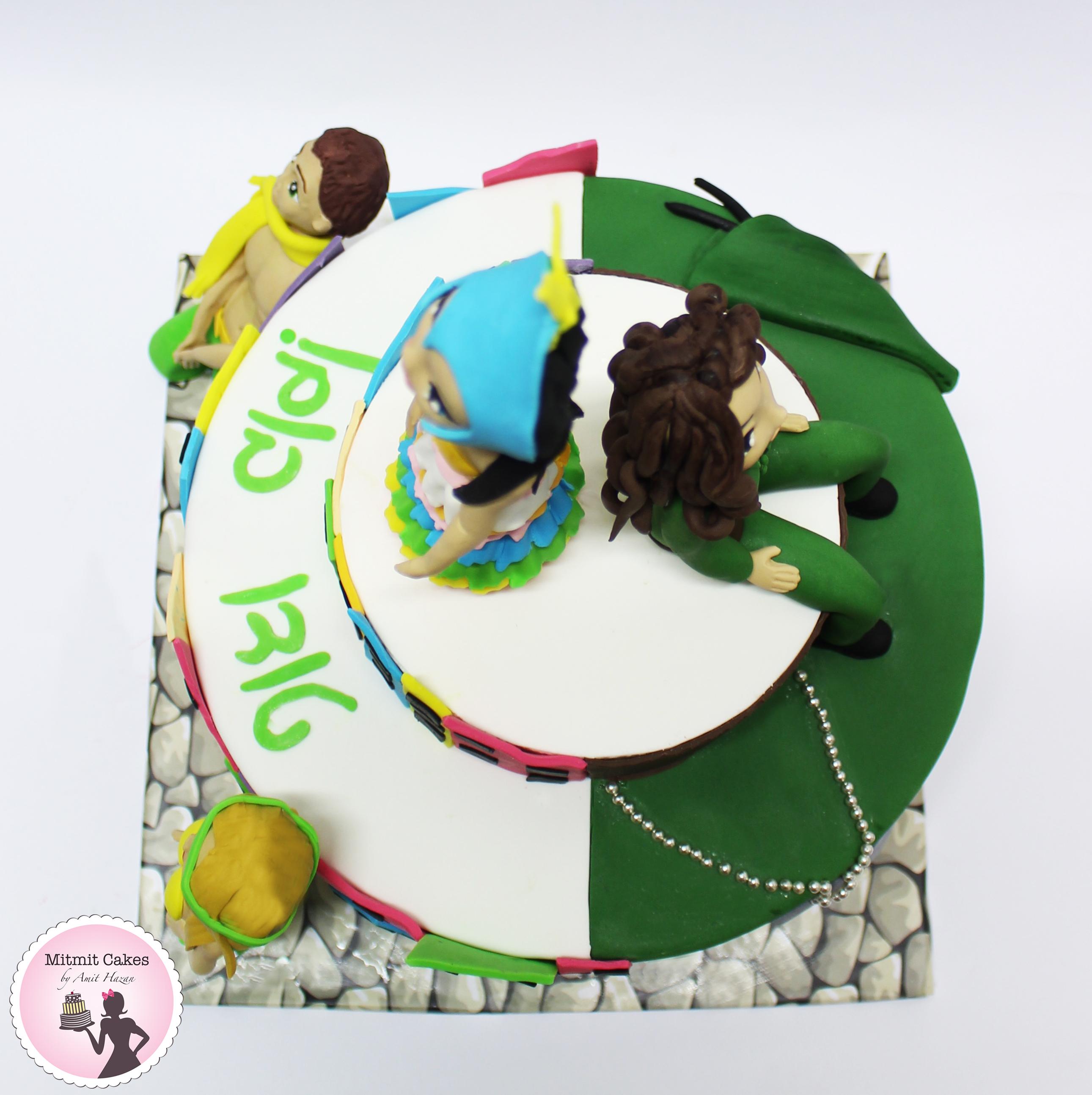 עוגה שחרור מהצבא בקונספט ברזיל