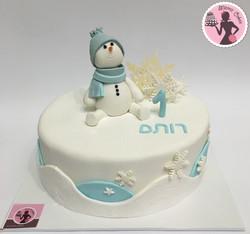 עוגת איש שלג