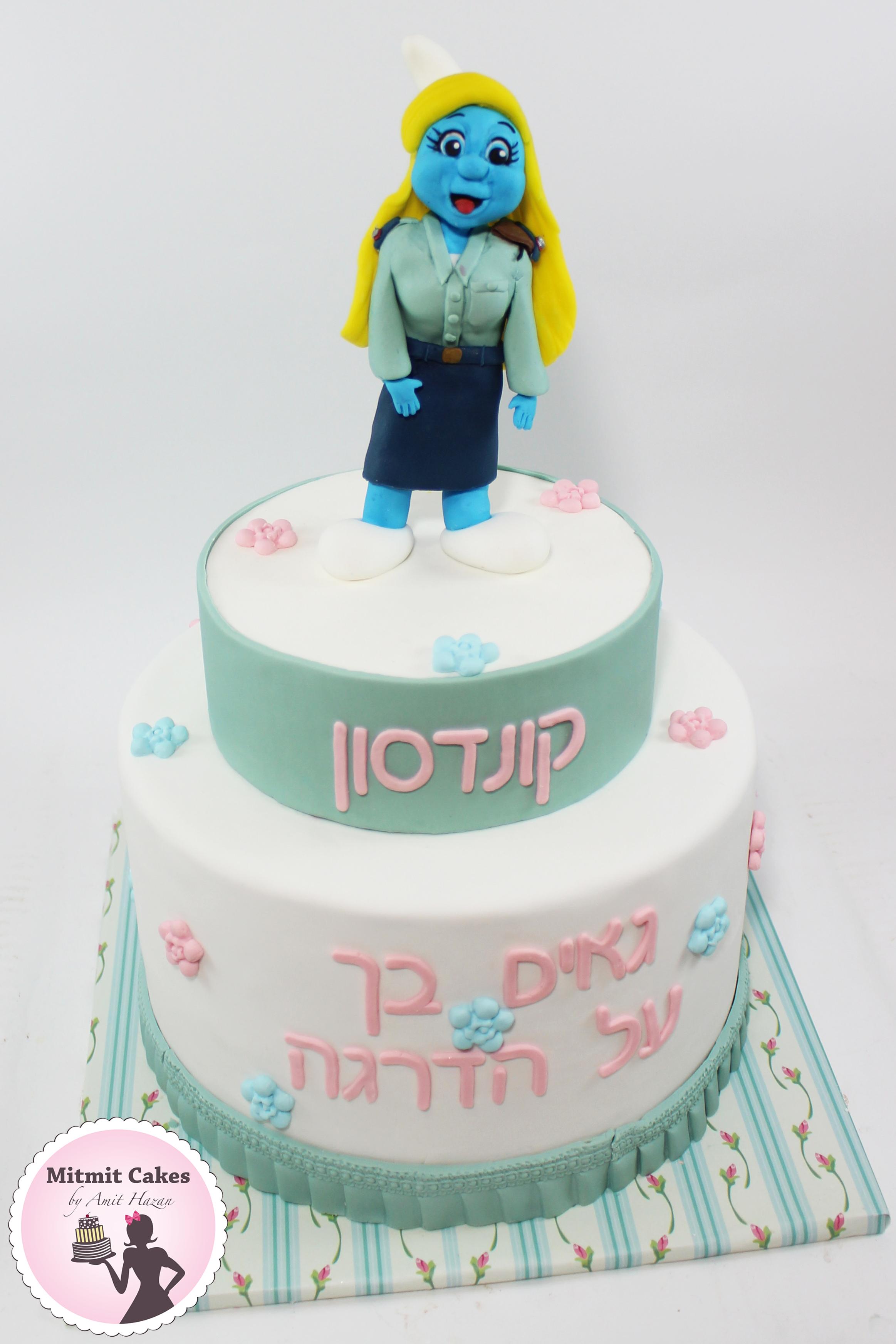 עוגה עם דרדס