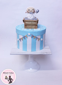 עוגה כבשה לברית