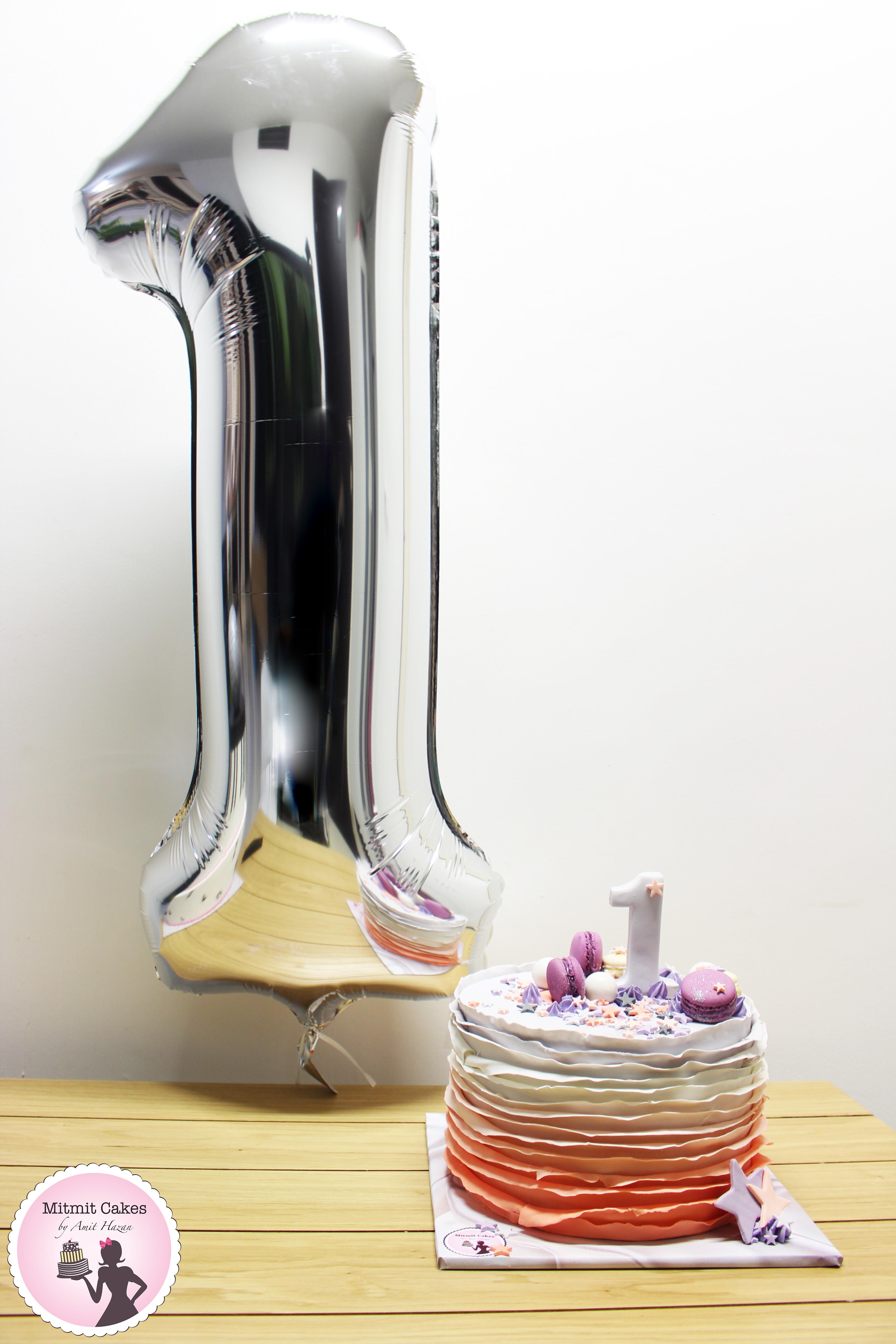 עוגת יום הולדת שנה 7