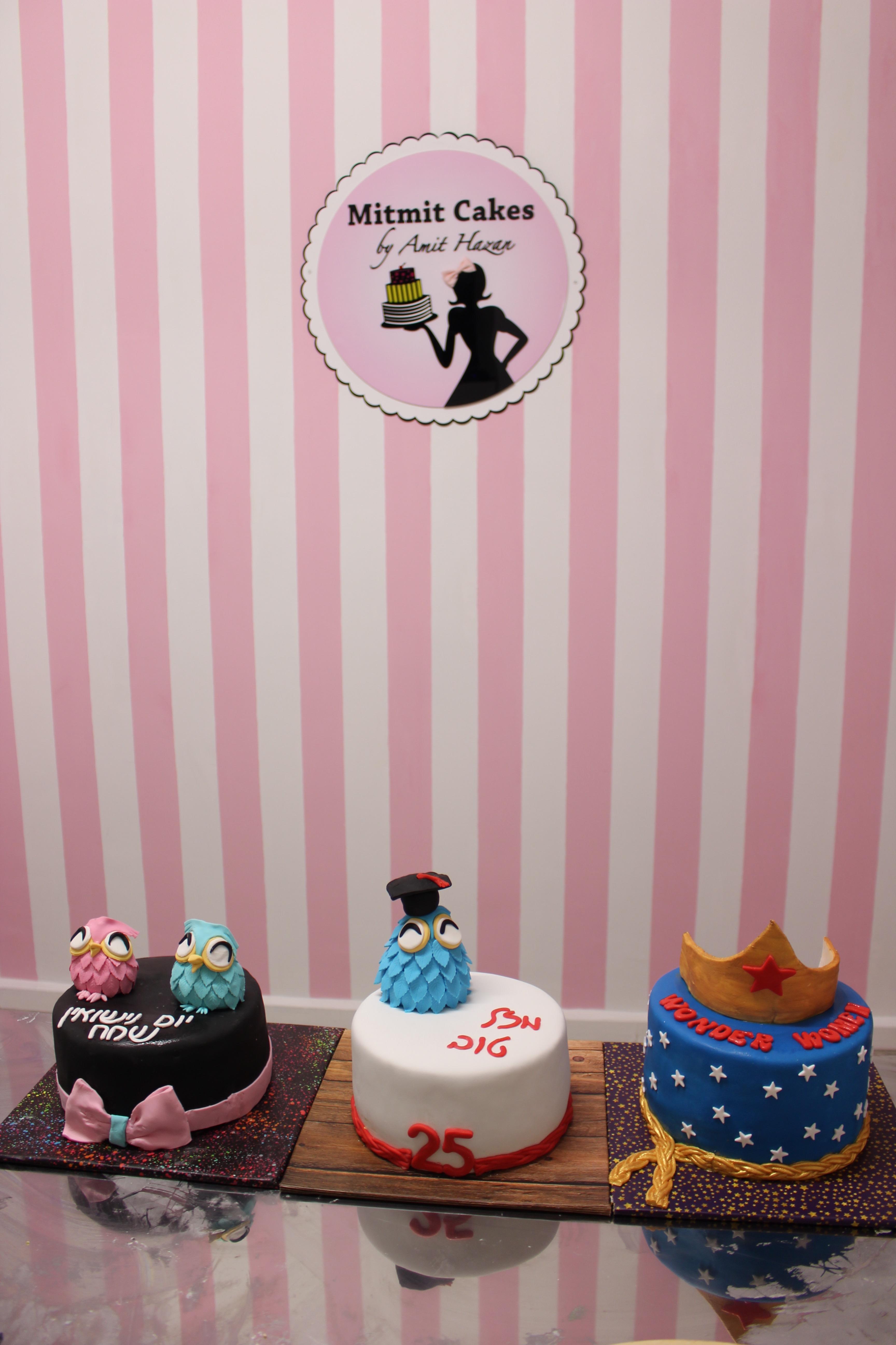 סדנה לעיצוב עוגות בצק סוכר בראשון לצ