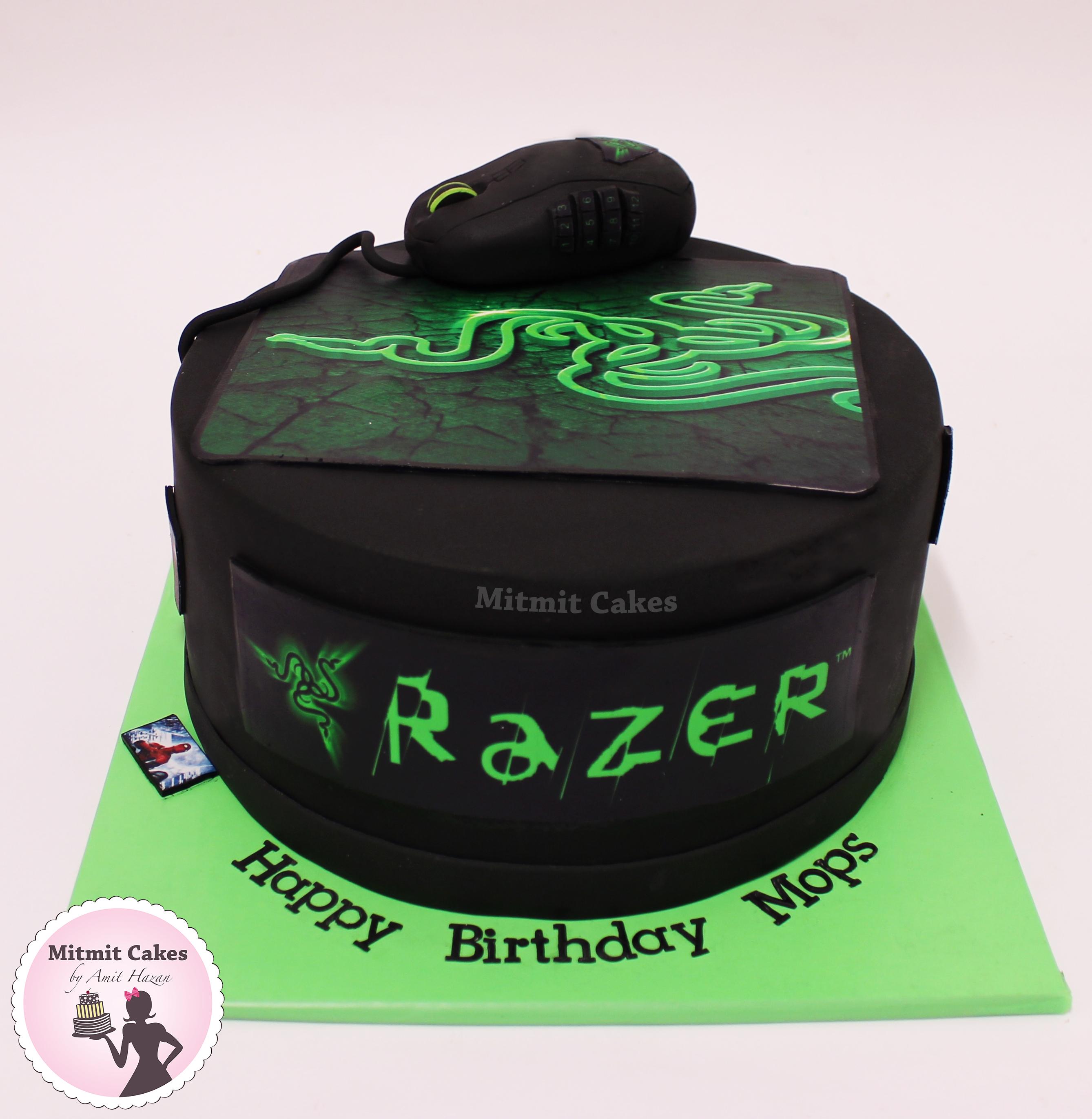 עוגה גיימרים