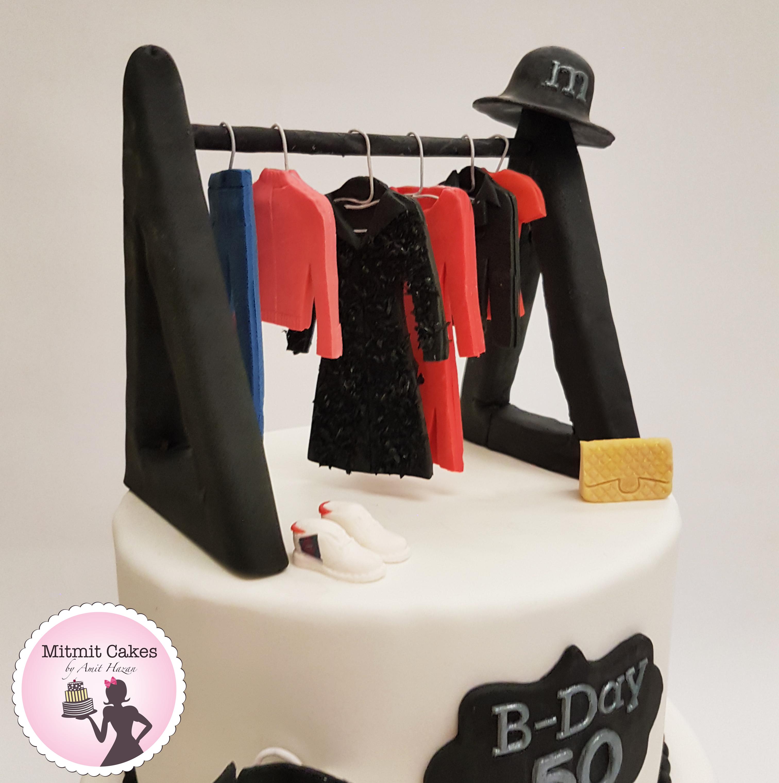 עוגת ארון בגדים