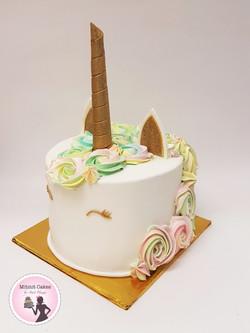 עוגת חד קרן צבעונית ומיוחדת