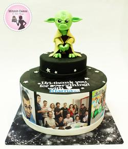 עוגה של מלחמת הכוכבים