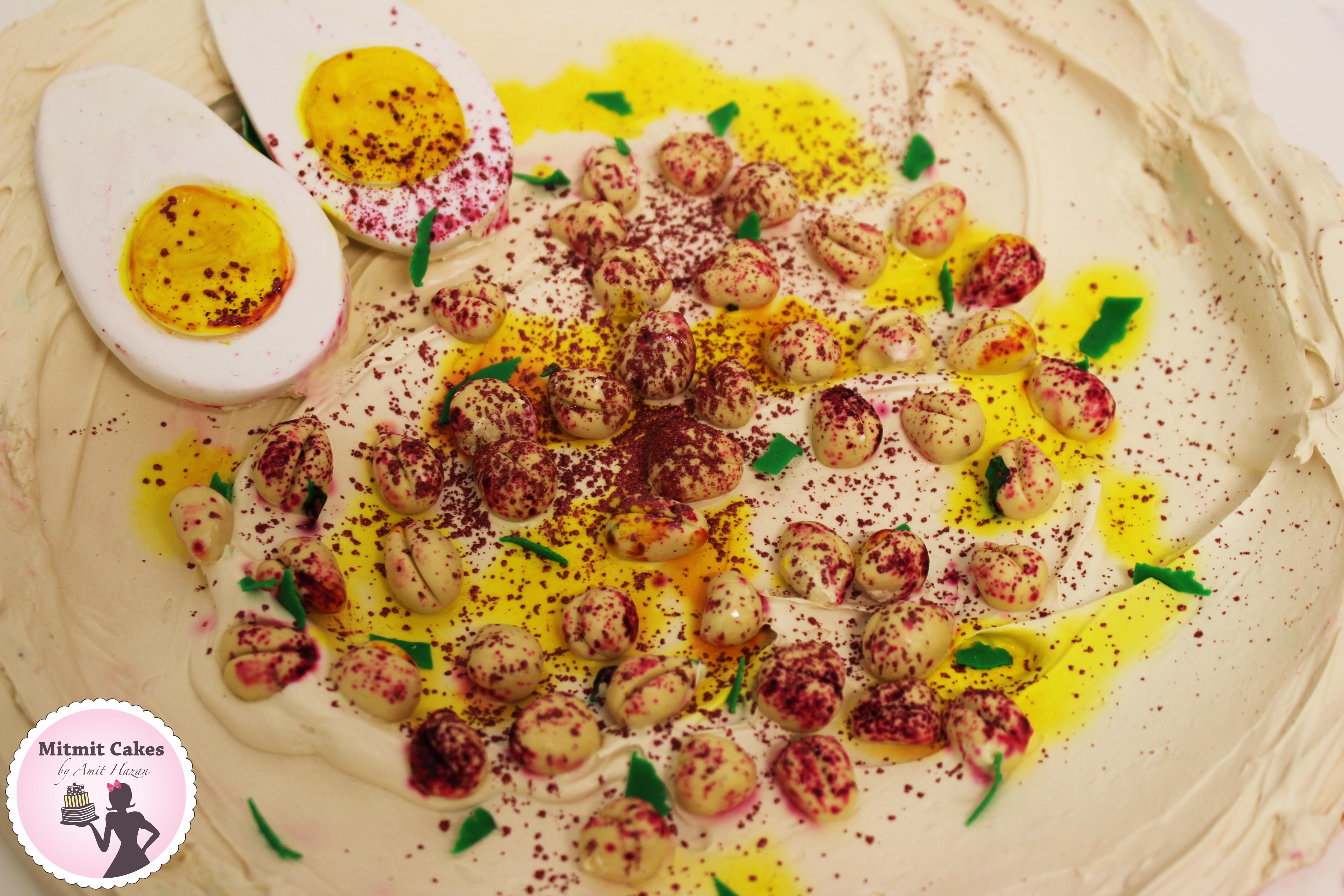 עוגה חומוס