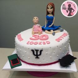 עוגה ליום הולדת 30
