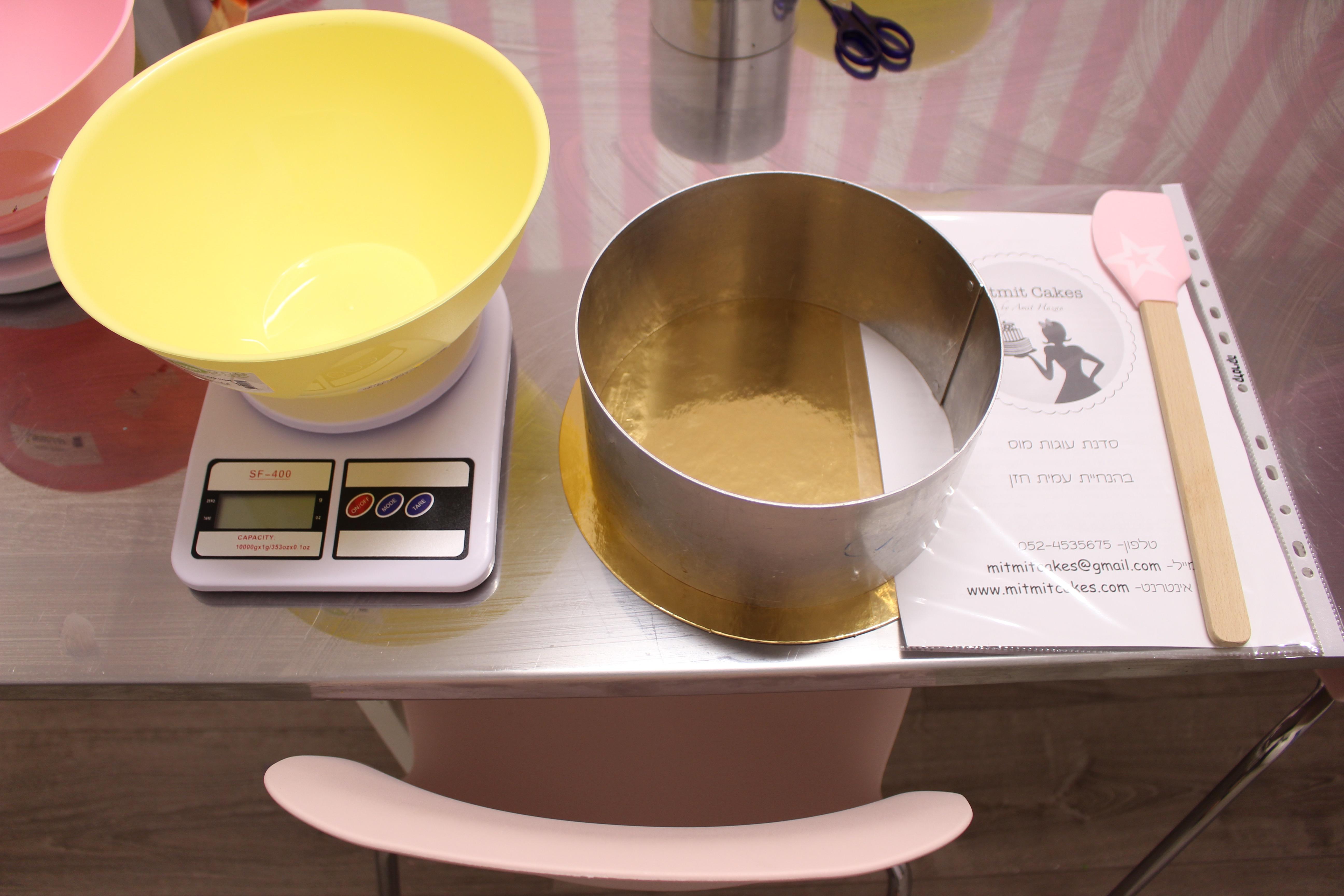 סדנה להכנת עוגות מוס
