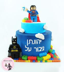 עוגה לגו - הירו - גיבורי על