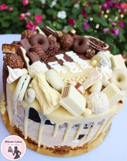 עוגה מיקס שוקולדים