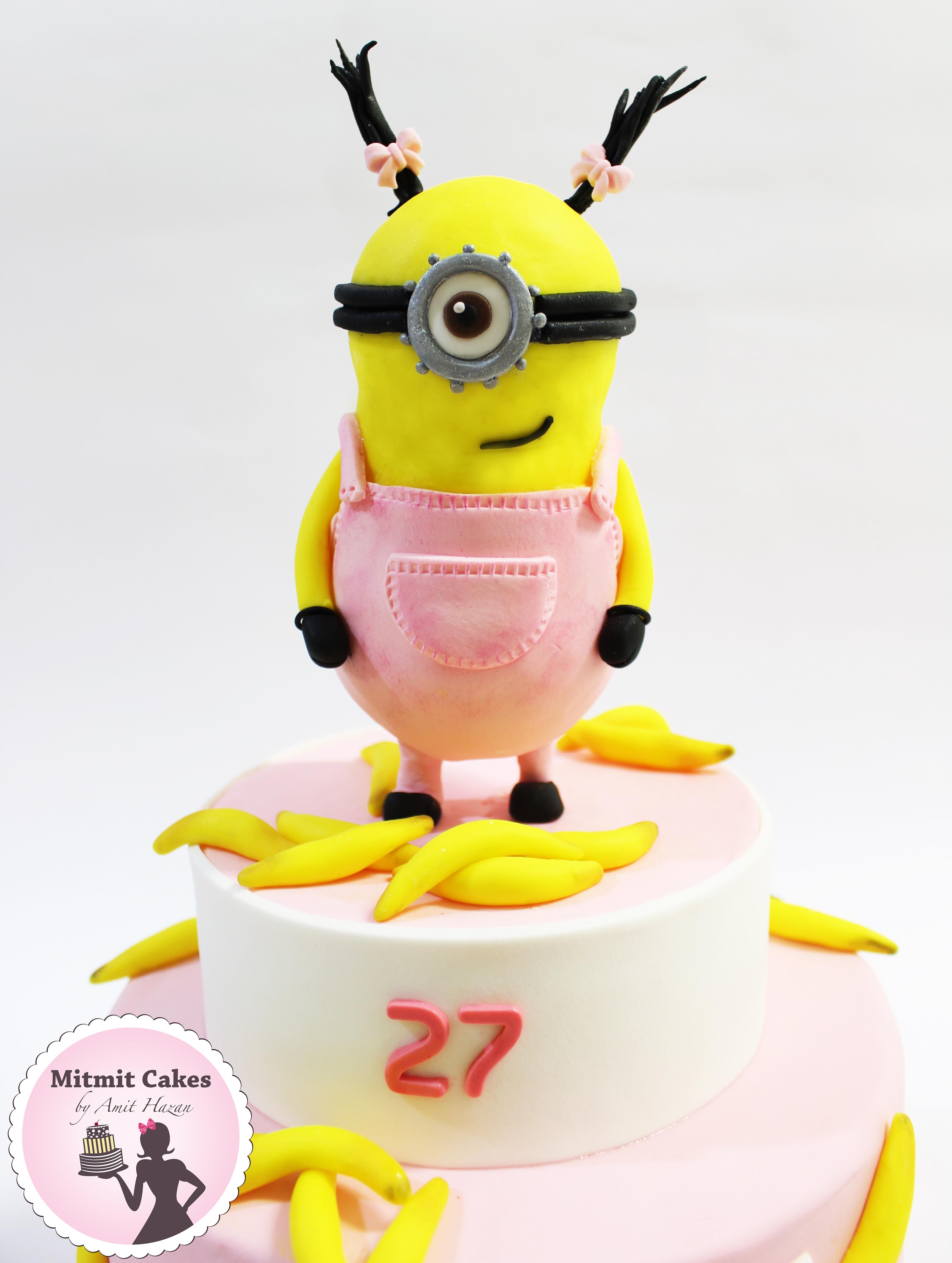עוגה מיניונים