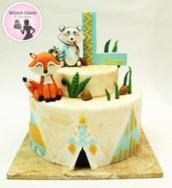 עוגת ארץ העץ-WOODLAND