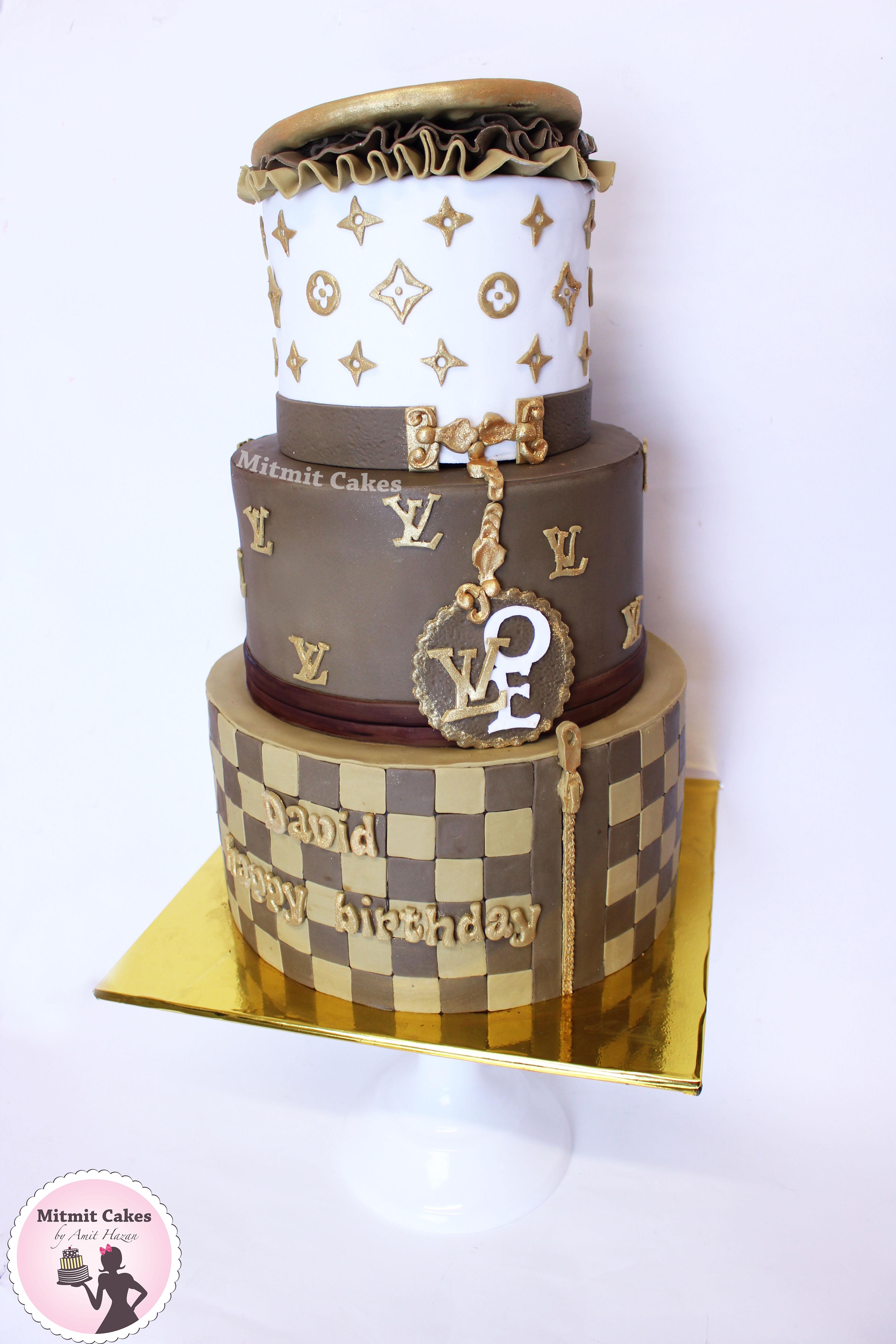 עוגת קומות לואי ויטון