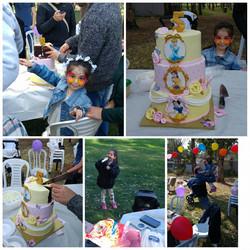 אמילי המתוקה עם עוגת נסיכות