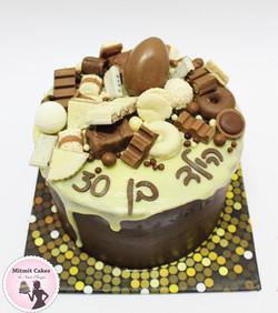 עוגת שוקולד עשירה ומפנקת